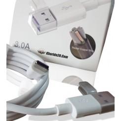 کابل شارژر اورجینال A 3.0 - Type-C super Flash Charge
