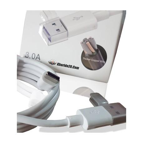 کابل شارژر Type-C پک دار P-Net KB833