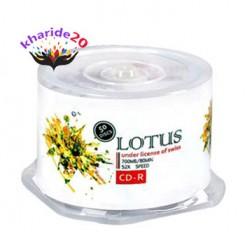 پک 50 عددی سی دی خام لوتوس| Lotus