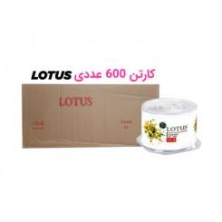 کارتن 600 عددی سی دی خام لوتوس | lotus
