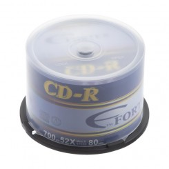 CD FORTEX سی دی خام ملودی باکس 50عددی