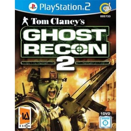 بازی Tom Clancys Ghost Recon 2 کنسول PS2