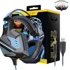 هدست و میکروفون گیمینگ E-SPORTسیم دار شرکت OVLENG مدل GT-67M