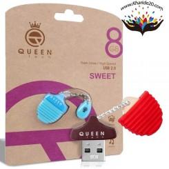 فلش مموری 8 گیگ Queen مدل Sweet