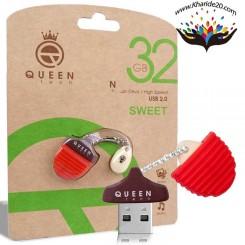 فلش مموری 32 گیگ Queen مدل Sweet