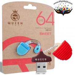 فلش مموری 64 گیگ Queen مدل Sweet
