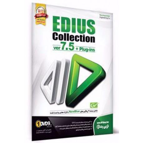 EDIUS Collection ver 7.5 + Plug-ins|قیمت پشت جلذ 300000