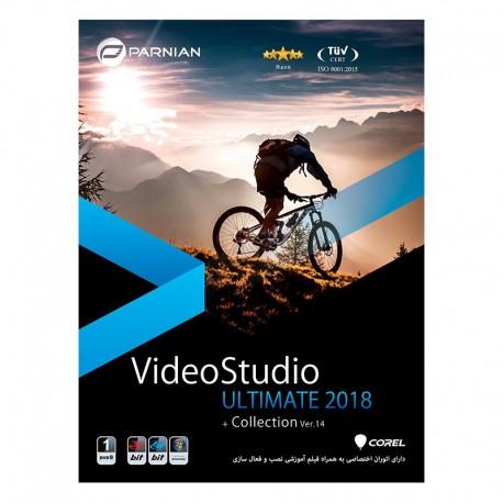 ویدیو استدیو video studio x10  قیمت پشت جلد 140000 ریال  1DVD9